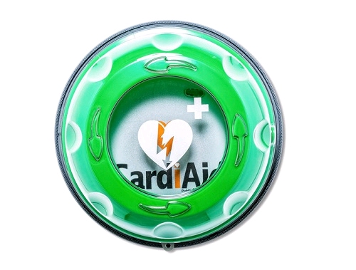 Kast Met Slot : Cardiaid solid plus heat aed outdoor cabinet met slot